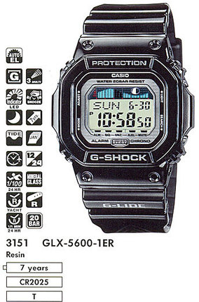 Casio GLX-5600-1E