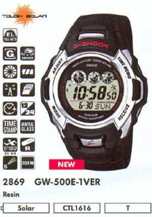 Casio GW-500E-1V