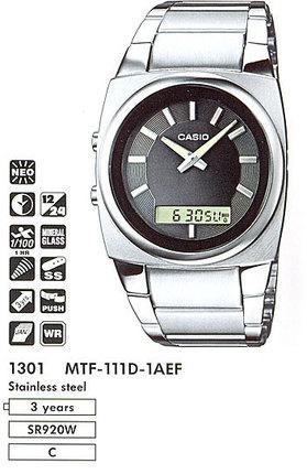 Casio MTF-111D-1A