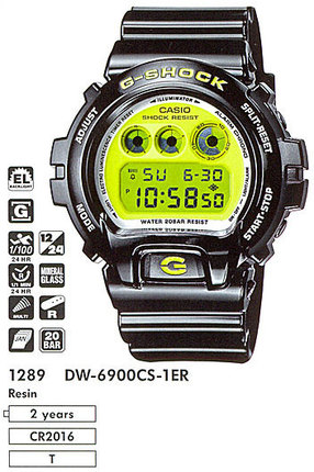 Casio DW-6900CS-1ER