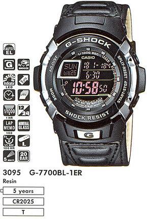 Casio G-7700BL-1E