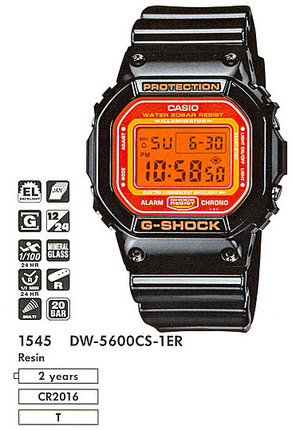 Casio DW-5600CS-1E