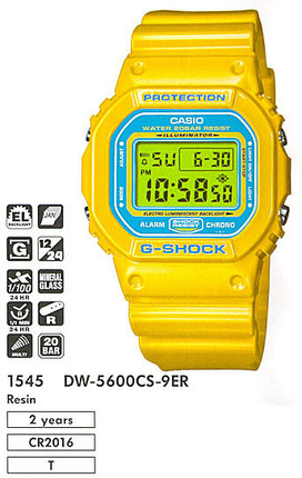 Casio DW-5600CS-9E