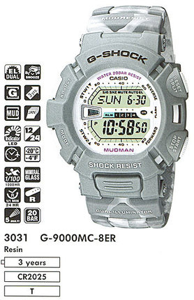 Casio G-9000MC-8E