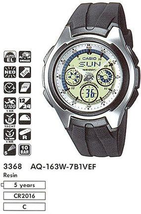 Casio AQ-163W-7B1VEF