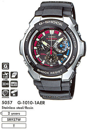 Часы CASIO G-1010-1AER G-1010-1A.jpg — ДЕКА