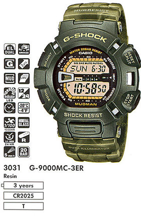 Casio G-9000MC-3E