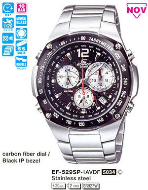 Casio EF-529SP-1A
