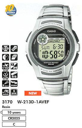 Casio W-213D-1AVEF