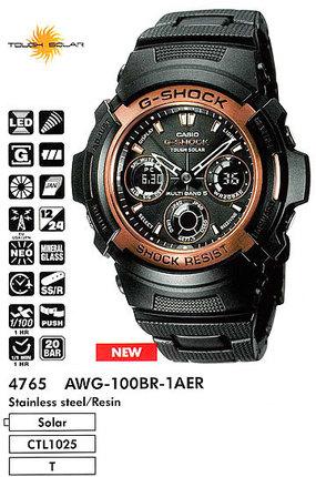 Casio AWG-100BR-1A