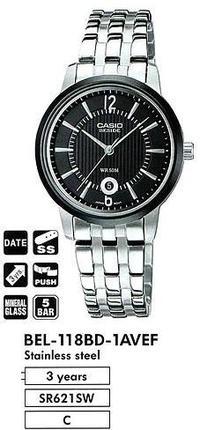 Casio BEL-118BD-1A