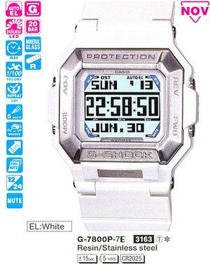 Casio G-7800P-7E
