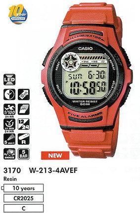 Casio W-213-4A