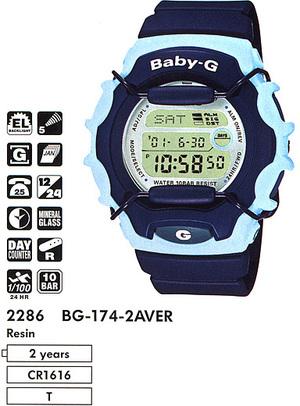 Casio BG-174-2A
