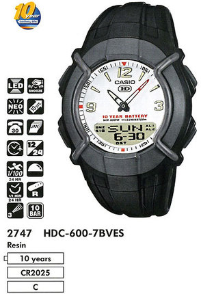 Casio HDC-600-7B