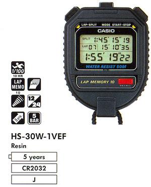 Casio HS-30W-1VEF