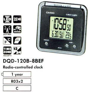 Casio DQD-120B-8B