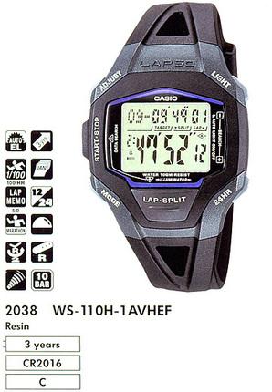 Casio WS-110H-1A