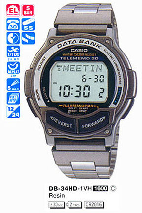 Casio DB-34HD-1V