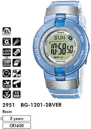Casio BG-1201-2B