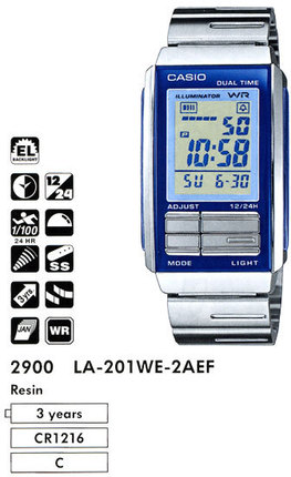 Casio LA-201WE-2A