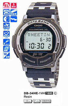 Casio DB-34HE-1V