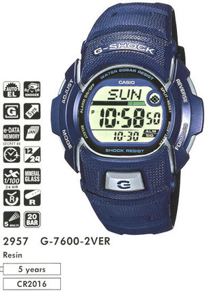 Casio G-7600-2V
