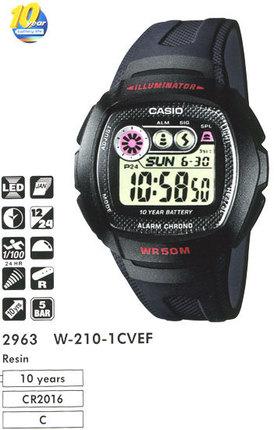 Casio W-210-1CVEF