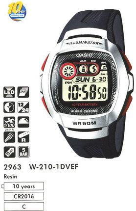 Casio W-210-1DVEF