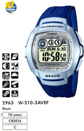 Casio W-210-2AVEF