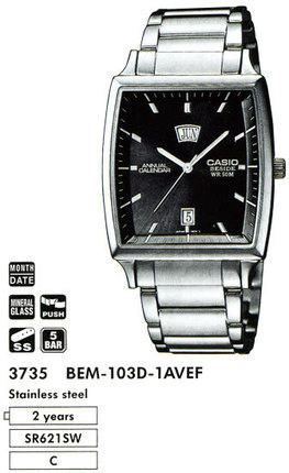 Casio BEM-103D-1A