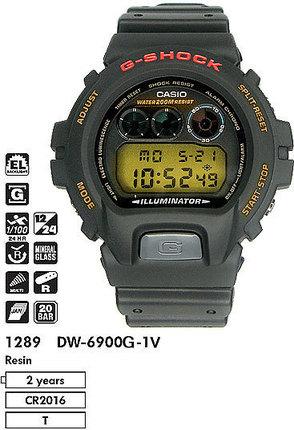 Casio DW-6900G-1V