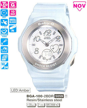 Casio BGA-100-2B