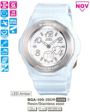 Casio BGA-100-2B