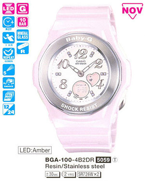 Casio BGA-100-4B2