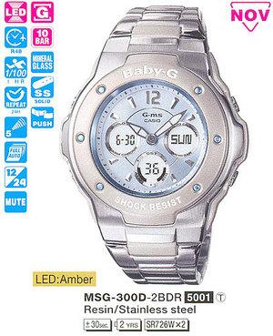 Casio MSG-300D-2BER