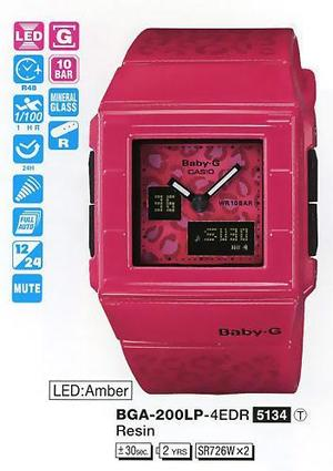 Casio BGA-200LP-4EER