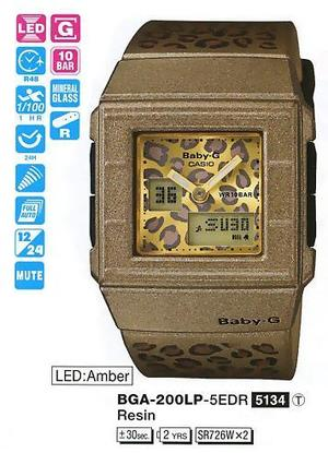 Casio BGA-200LP-5EER