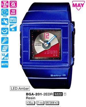 Casio BGA-201-2EER