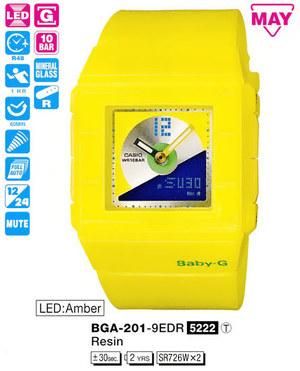 Casio BGA-201-9EER