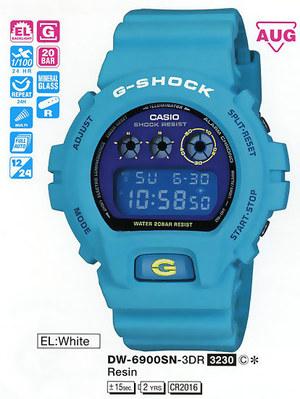 Casio DW-6900SN-3ER