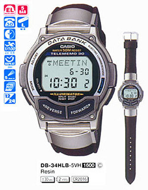 Casio DB-34HLB-5V