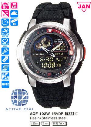 Casio AQF-102W-1B