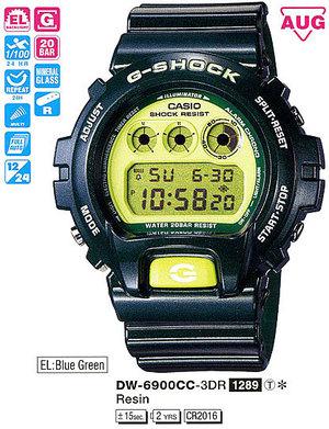 Casio DW-6900CC-3ER