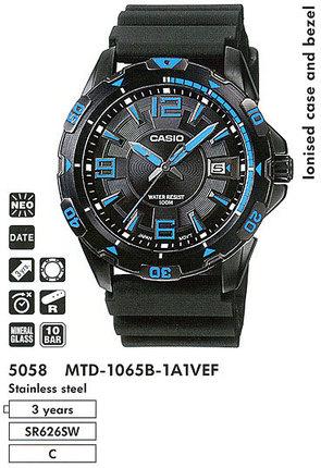 Casio MTD-1065B-1A1