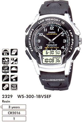Casio WS-300-1BVSES