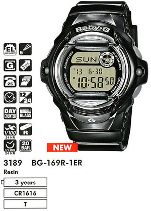 Casio BG-169R-1ER