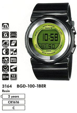Casio BGD-100-1BER