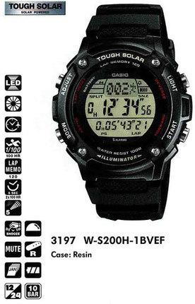 Casio W-S200H-1BVEF