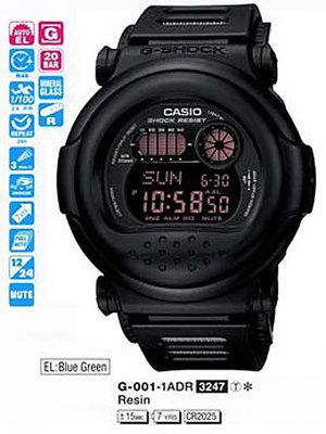 Casio G-001-1AER